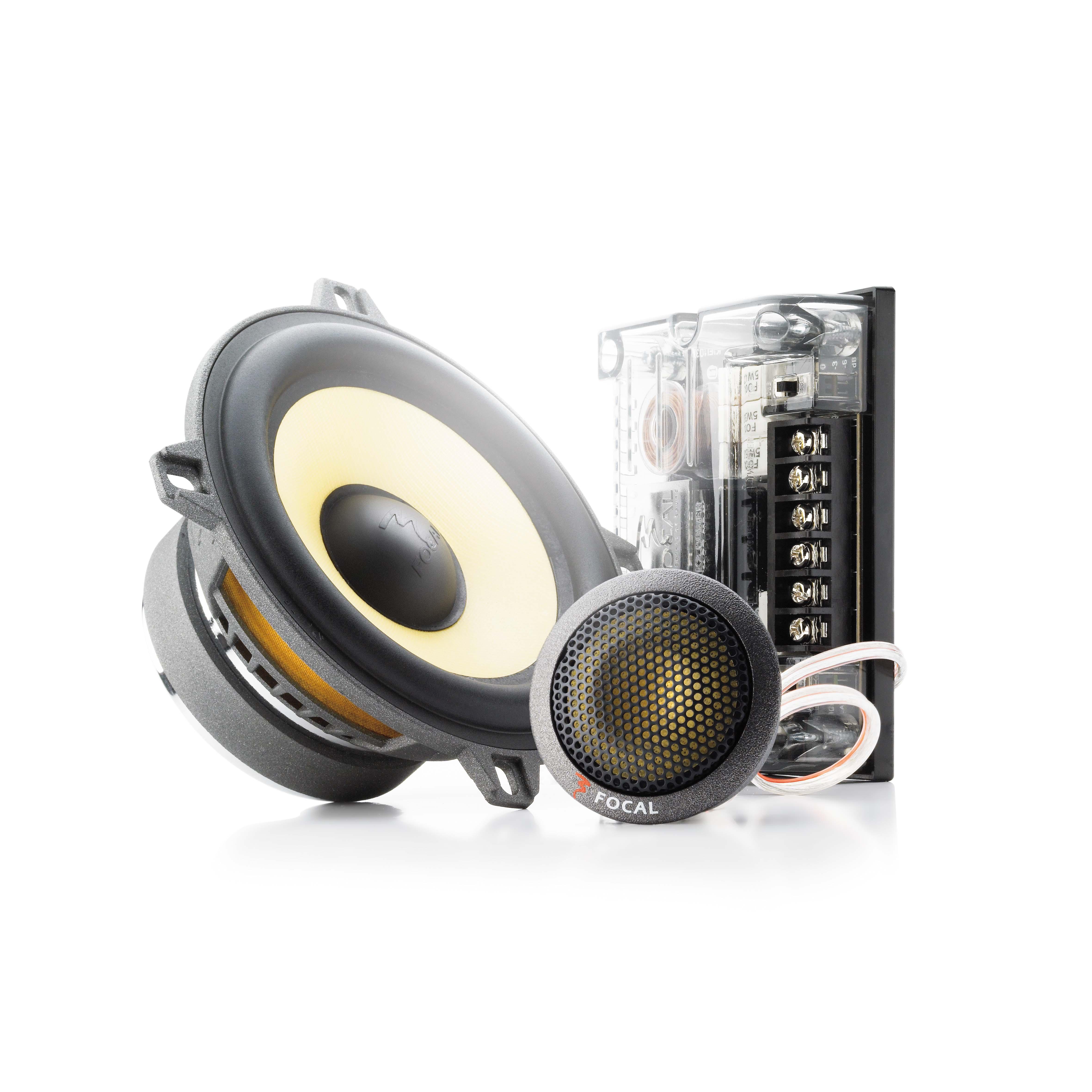 Focal 130KR K2 Power 5″ 2-Way Component Speaker Kit