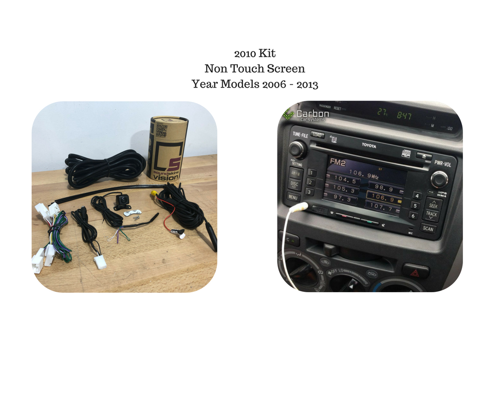 Reverse Camera Kit for Toyota Hilux Factory Stereo
