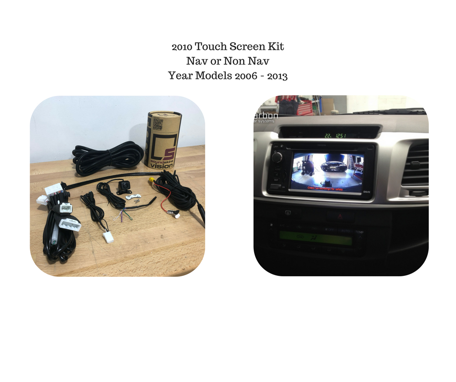 Reverse Camera Kit for Toyota Hilux