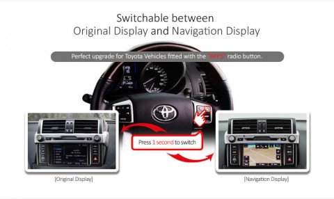 Toyota Navigation 2014 OEM Screen