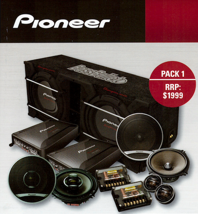 Pioneer Car Audio Package Deals
