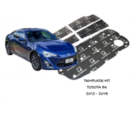 SoundSkins Sound Deadening Kit for Toyota 86 Subaru BRZ