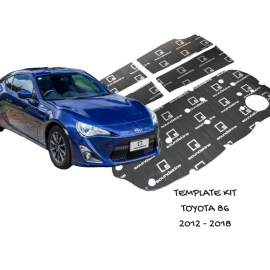 SoundSkins Sound Deadening Kit for Toyota 86 Subaru BRZ