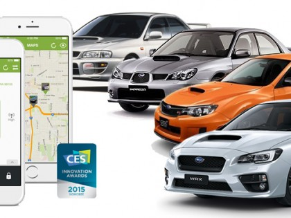 Subaru Impreza WRX Remote Engine Start and Security Packages
