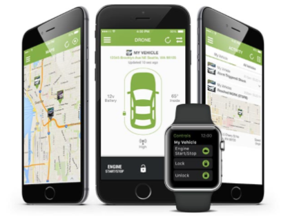 Start Your Car From Your Apple iWatch DroneMobile