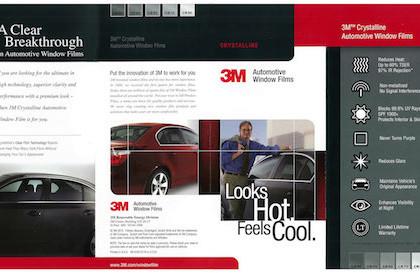 3M Crystalline Automotive Window Films