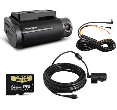 Thinkware F750 Dash Camera Kit 64gb