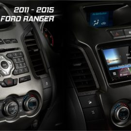 Ford Ranger PX1 Kenwood DNX8160DABS Complete Solution