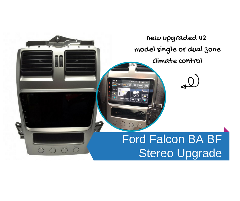 Overline Ford BA BF Territory Android ICC - GPS Apps | Stereo Upgrade