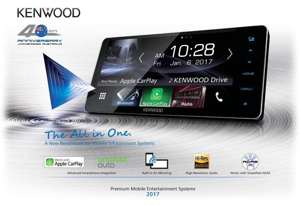 Kenwood DDX917WS