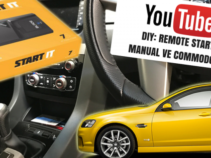 Remote Start for Manual VE Commodore – Plug & Play