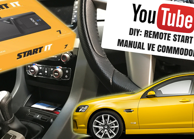 Remote Start for Manual VE Commodore