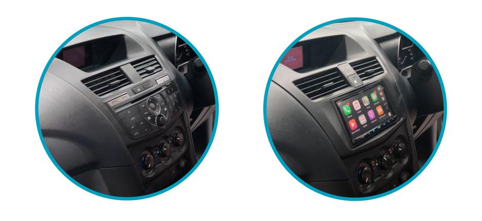 AutoChimp Stereo Install Kit for Mazda BT50 2012 to 2017 | AC-BT50-KIT