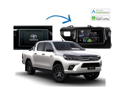 Complete Stereo Upgrade Kits Toyota Hilux 2014 – 2017 Models