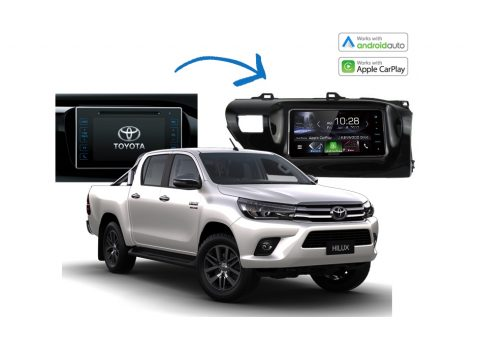Complete Stereo Upgrade Kits Toyota Hilux 2014 - 2017 Models