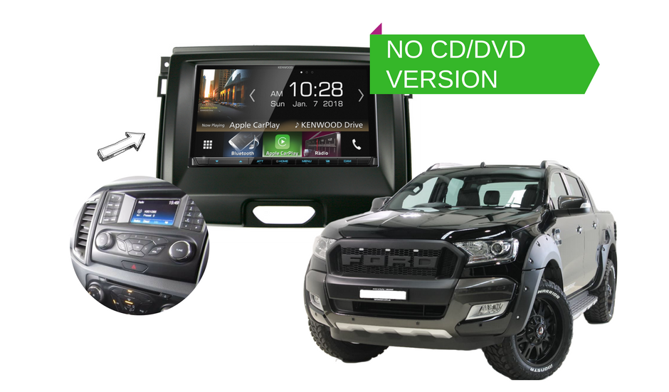 Kenwood DMX8018S for Ford Ranger PX2