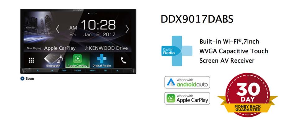 Kenwood DDX9017DABS Money Back