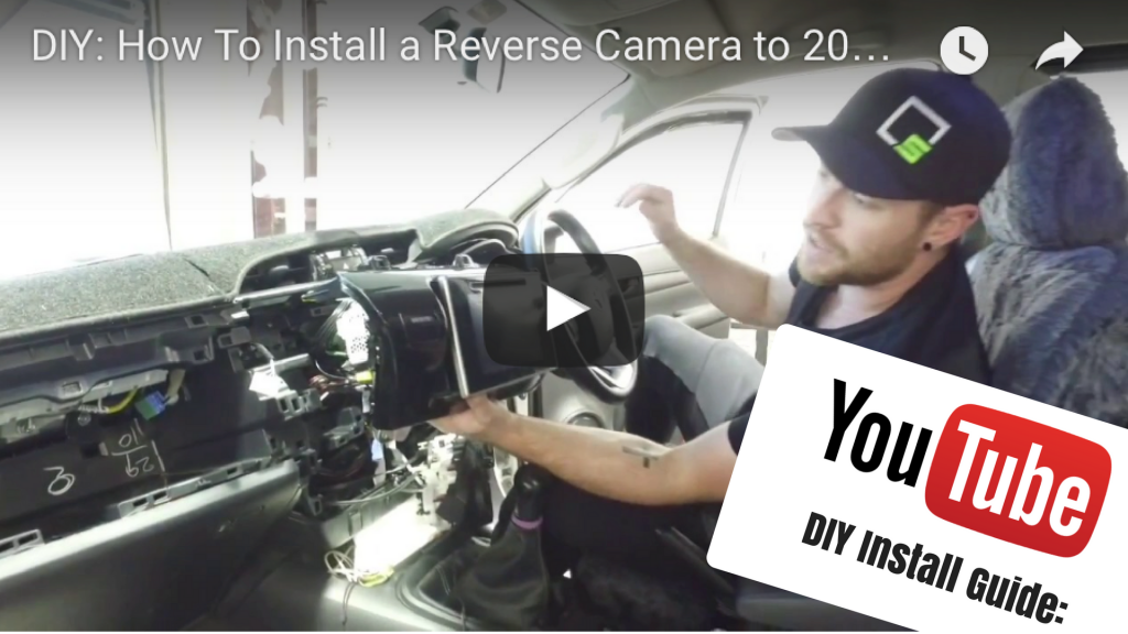 Reverse Camera For Toyota Hilux Factory Screen Carbon Car Systems