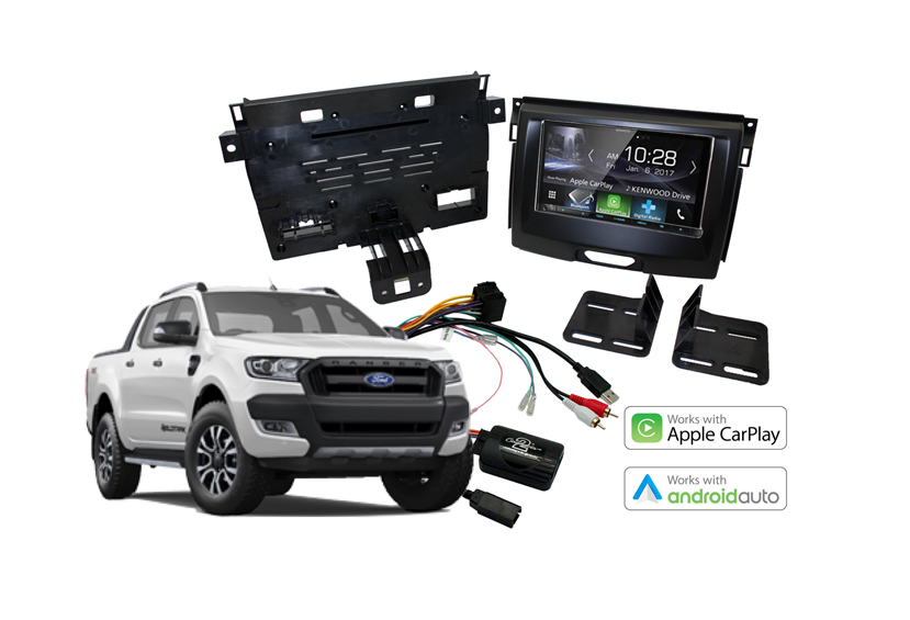 Stereo Upgrades Ford Ranger 2011 2017 Carbon Car Systems