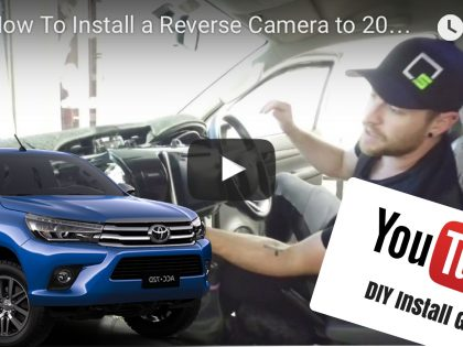 DIY: Reverse Camera To Toyota Hilux Factory Screen