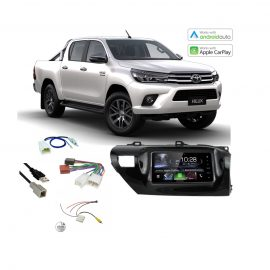 Toyota Hilux Complete Stereo Solution 2016 2017 Kenwood DDX917WS