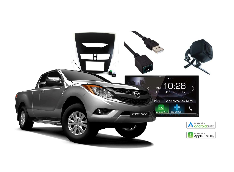 Mazda BT50 Complete Stereo Solution - Kenwood DDX9017DABS