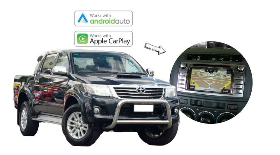 Kenwood DMX8020S forToyota Hilux Stereo Upgrade   2014 to 2015