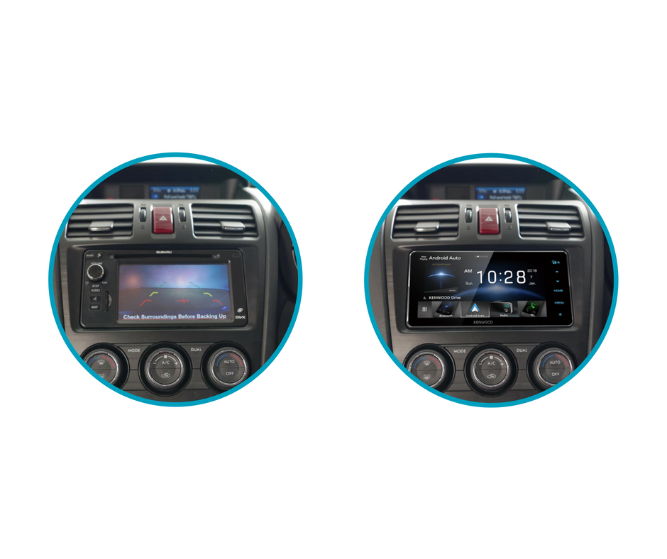Kenwood DDX920WDABS for Subaru Impreza Stereo Upgrade | 2014 to 2015