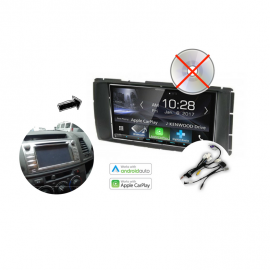 Kenwood DMX7017BTS Stereo Upgrade for 2014 Toyota Hilux