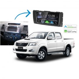 Toyota Hilux Complete Stereo Solution 2014 2015 Kenwood DDX9017DABS