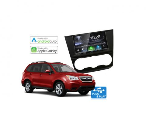 Subaru Forester Complete Stereo Solution 2015 - 2017 Kenwood DDX9017DABS