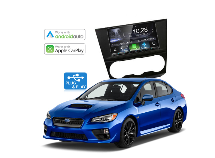 Subaru Impreza Complete Stereo Solution 2015 - 2017 Kenwood DDX9017DABS
