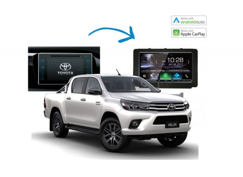 Toyota Hilux Complete Stereo Solution 2016 2017 Kenwood DDX9017DABS