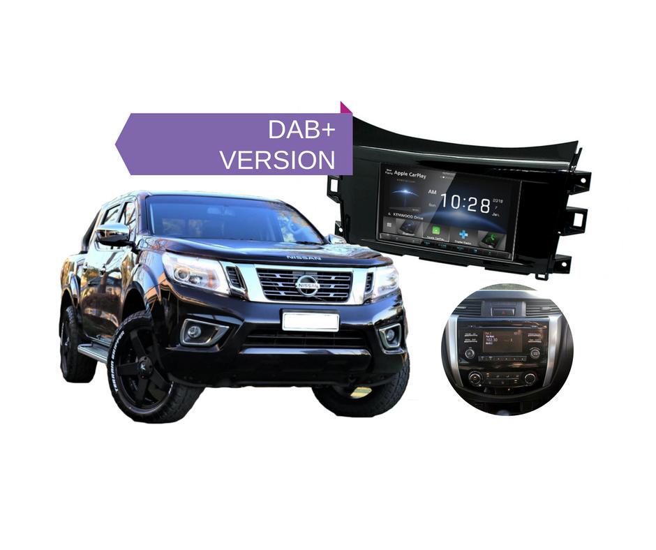 Kenwood DDX9018DABS for Nissan Navara D23 ST STX - 2014 to 2018 | Stereo Upgrade