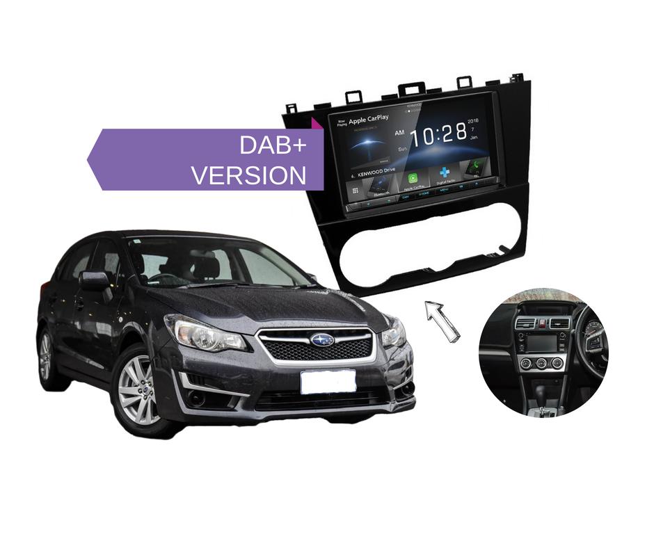 2016 Subaru Impreza Stereo Upgrade