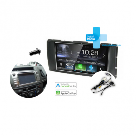 Kenwood DDX9017DABS Stereo Upgrade for 2014 Toyota Hilux inc 2015