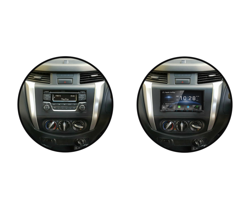 Kenwood DDX9020DABS for D23 Nissan Navara RX DX Stereo Upgrade   2014 to 2018