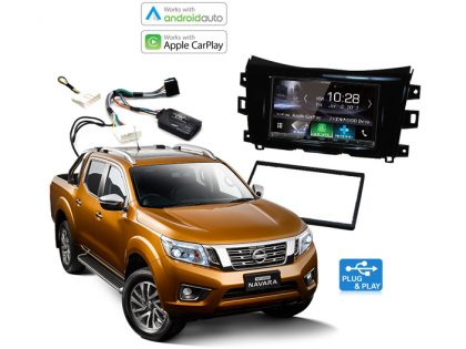 Nissan Navara Apple CarPlay & Android Auto Upgrade D23/D40
