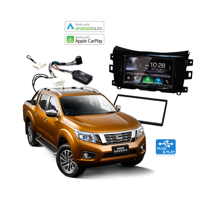 Nissan Navara NP300 Apple CarPlay & Android Auto Upgrade