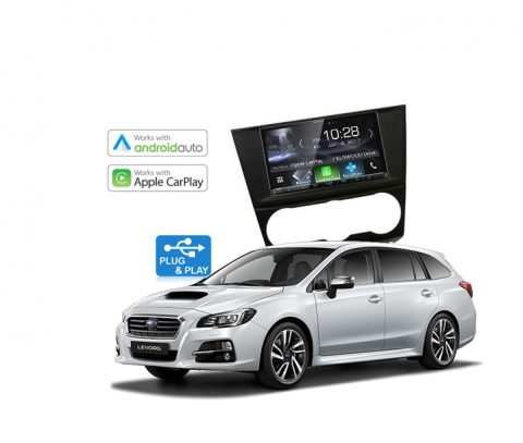 Subaru Levorg Complete Stereo Solution 2015 - 2017 Kenwood DDX9017DABS