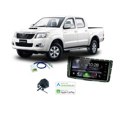 Toyota Hilux Complete Stereo Solution 2014 2015 Kenwood DDX917WS