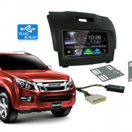 Isuzu Dmax Stereo Upgrade Plug & Play