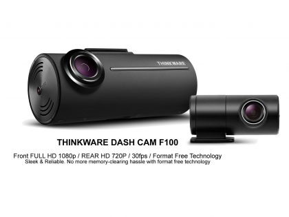 Thinkware F100 Dual Channel Dash Camera Released