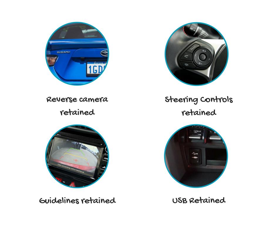 Kenwood DMX8020S forSubaru BRZStereo Upgrade   2016 to 2020