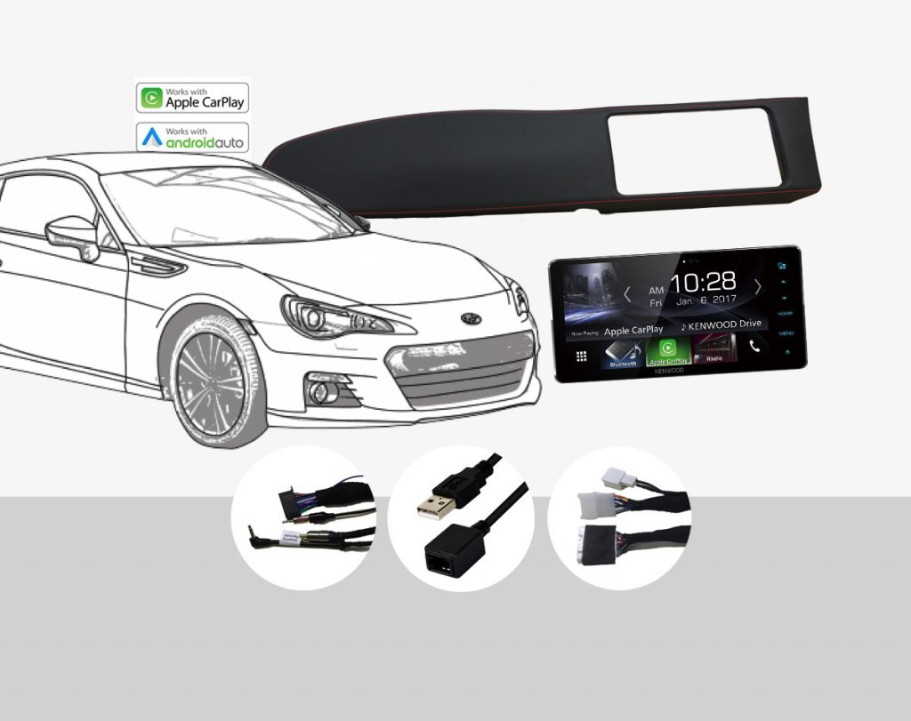 Plug & Play Stereo Solutions for 2017 Subaru BRZ