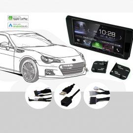 Plug & Play Kenwood DDX9017DABS Stereo for 2017 Subaru BRZ