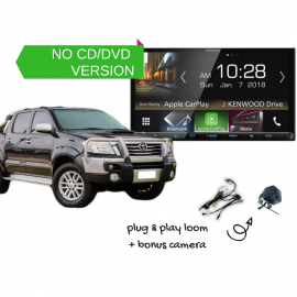 Kenwood DMX8018S forToyota Hilux 2006 to 2013 | Stereo Upgrade
