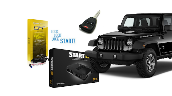 Jeep Wrangler Remote Start Kit