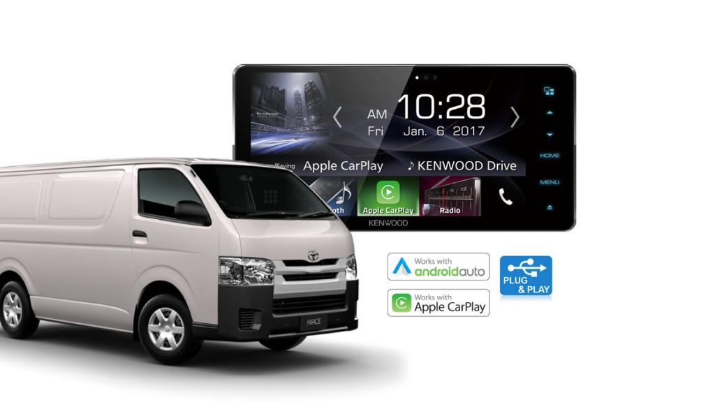Toyota HiAce Stereo Upgrade Kenwood