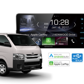 Toyota HiAce Stereo Upgrade Kenwood